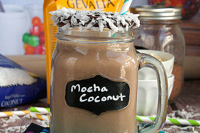 Mocha Coconut Morning Smoothie