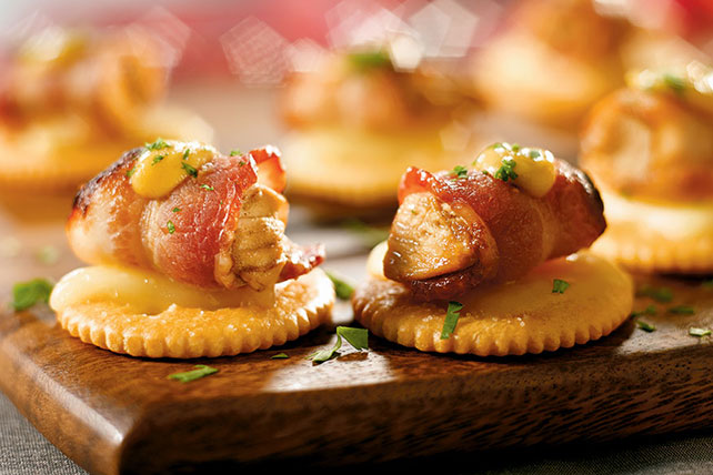 Bacon-Wrapped Chicken Bites - Kraft Recipes