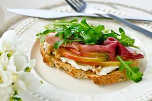 Pear & Prosciutto Sandwich