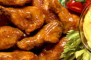 Honey Mustard Chicken Wings Image 1