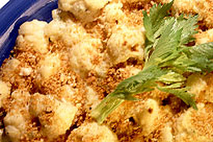 Baked Scalloped Cauliflower Image 1