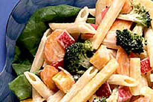 Warm Veggie and Pasta Salad Image 1