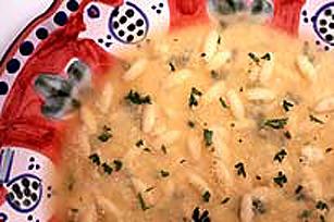 Italian Stracciatella Soup Image 1
