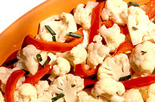 Stir-Fried Cauliflower & Red Pepper Image 1