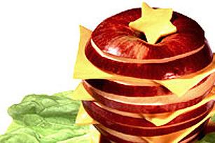 Empilade de pomme au fromage KRAFT Image 1