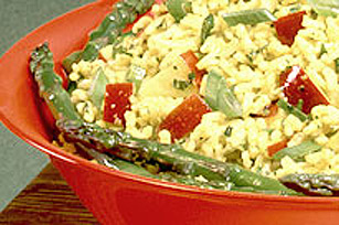 Summertime Asparagus Rice Salad Image 1