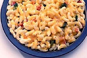 Light Macaroni and Cheese Bake Image 1