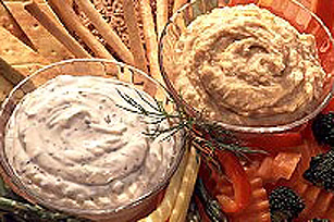 KRAFT Parmesan Hummus Vegetable Dip Image 1