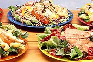 Salade d'épinards et de légumes grillés Image 1