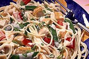 Salade de pâtes chinoise au poulet Image 1