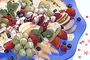 Superbe plateau de fruits frais Image 1