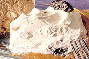 Tarte à la crème glacée biscuits et crème de la crémerie
