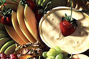 PHILADELPHIA Pineapple Cream Fruit Dip Image 1