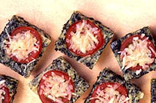 Bouchées de quiche aux 4 fromages Image 1