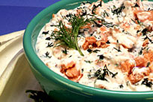 KRAFT Easy Salmon & Dill Party Dip Image 1
