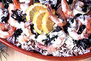 Crevettes en sauce verte Image 1
