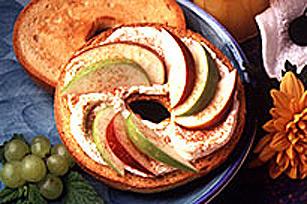 Baguel PHILADELPHIA aux pommes et à la cannelle Image 1