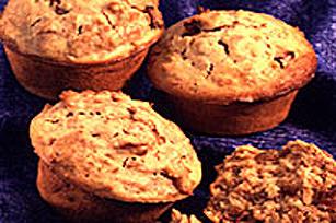 Muffins en grosses tasses de la mascotte