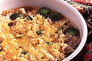 Plat de riz au brocoli et au fromage Image 1
