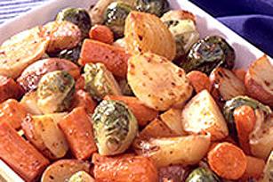 Légumes rôtis à la vinaigrette Tomate confite et origan KRAFT Image 1