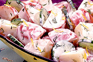 Salade de pommes de terre avec citron et aneth Image 1