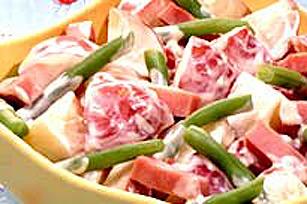 Salade de pommes de terre aux haricots verts Image 1