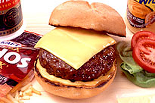 Burger au duo de fromages crémeux KRAFT
