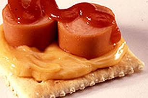 Bouchées à la saucisse et au fromage Image 1