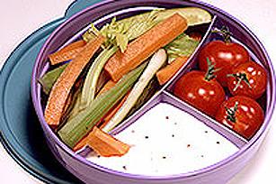 Crudités et trempette Miracle pour la boîte à lunch Image 1