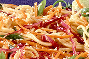 Asian Honey Dijon Noodle Salad