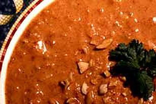 Soupe aux arachides et aux tomates à la marocaine Image 1