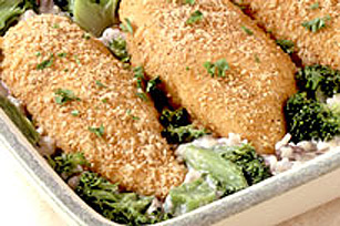 Broccoli-Cheese Rice with Chicken Image 1