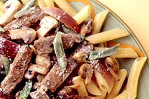 Creamy Parm-Peppercorn Steak Image 1