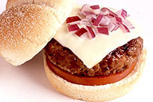 Tangy BBQ Teriyaki Burgers Image 1
