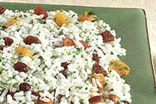 Riz pilaf aux abricots Image 1