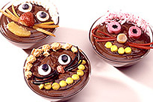 JELL-O Chocolate Pudding Cats