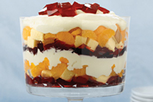Strawberry-Orange Trifle