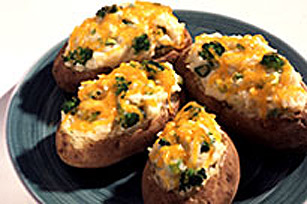 KRAFT CHEDDAR Stuffed Baked Potatoes Image 1