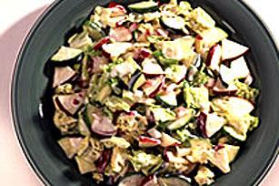 Salade de chou avec courgette et pomme Image 1