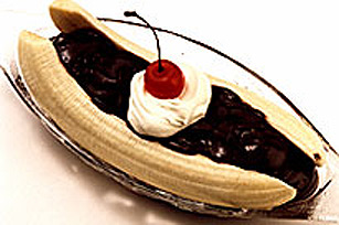 Lickety Split JELL-O Banana Splits Image 1