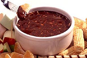 BAKER'S Swirled Chocolate Fondue Image 1