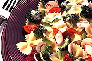 Pâtes primavera piquantes au poulet Image 1