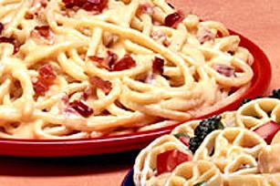 Spaghetti au bacon et au cheddar Image 1