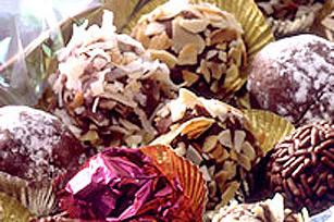 BAKER'S Chocolate Rum Balls