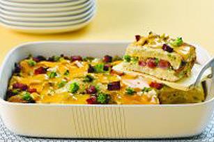 Omelette au fromage pour un groupe Image 1