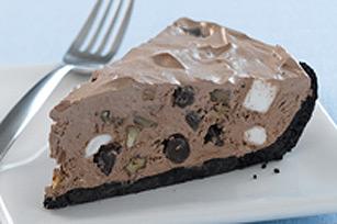 JELL-O Rocky Road Ice Cream Shop Pie