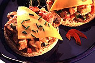 Croque-monsieur au poulet, à la salsa et aux SINGLES Image 1