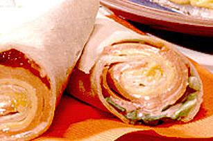 Sandwich roulé aux SINGLES Image 1