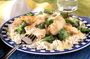 Poulet et brocoli en sauce Image 1