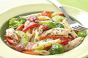 Chicken Pasta Primavera Image 1